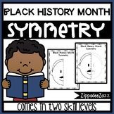 Black History Month Symmetry Drawing Activity for Art and Math
