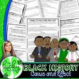 Reading Comprehension Passages and Questions Black History Month