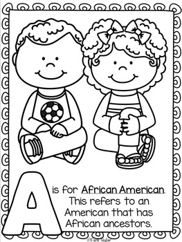 Black History Month ~ The ABC's of Black History