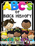 Black History Month - The ABC's of Black History