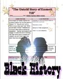 Black History Month: The Story of Emmett Till Lesson Pt. 1