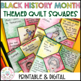 Black History Month Themed Square Quilt Pattern Digital an
