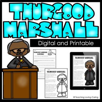Black History Month Thurgood Marshall