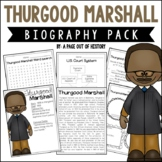 Thurgood Marshall Biography Pack (Black History Month)