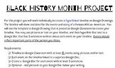 Black History Month Timeline Month