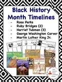 Black History Month Timelines