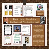 Black History Month Toddler and Preschool Pack