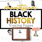 BLACK HISTORY MONTH Tracing Names Famous African Americans
