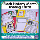 Black History Month Trading Cards: Mini-Research Project