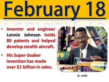 Black History Month - February Trivia Calendar (PowerPoint)