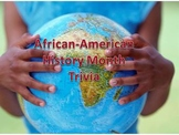 Black History Month Trivia Power Point - 3 Question Sets for K-2, 3-5, and 6-8!