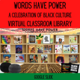 Black History Month Virtual Library Words Have Power A Cel