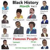 Black History Month Vol 3 Famous People