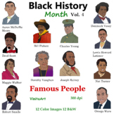 Black History Month Vol 4 Famous People