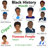 Black History Month Vol. 6 Famous People