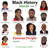 Black History Month Vol 7 Famous People