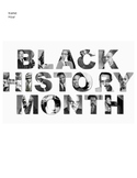 Black History Month Warm-Ups