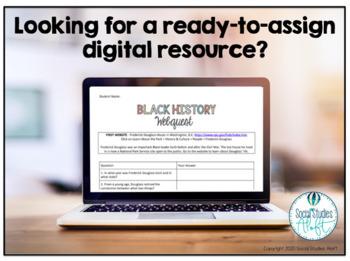 Black History Month Webquest Activity No Prep Google Doc ...