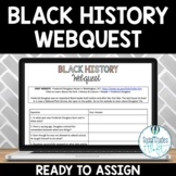 Black History Month Webquest Activity No Prep Google Doc™ & Paper Version