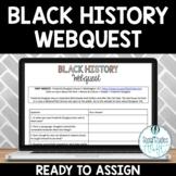 Black History Month Webquest Digital Activity Google Doc™