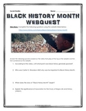 Black History Month - Webquest with Key (History.com)