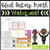 Black History Month Webquest