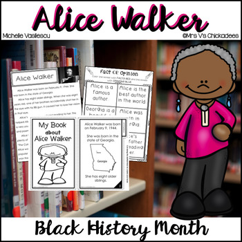 Black History Month / Women's History Month: Alice Walker