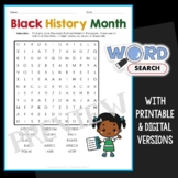 Black History Month Word Search 1
