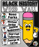 Black History Month Word Wall Cards Set