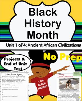 Black History Month Workbook Unit 1