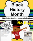 Black History Month Workbook Unit 1