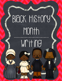 Black History Month Writing