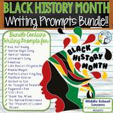 Black History Month Writing BUNDLE! 22 Lessons! Text Depen