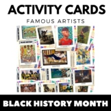 Black History Month - Task Cards and Art Activities - Afri