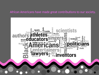 Black History Month ... a PPT about African American Heroes