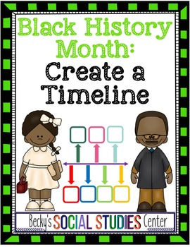 Black History Month for Middle School: Timeline of a Historical Figure