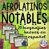 20 Afrolatinos notables / Notable Afro-Latinos - Black His