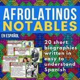 20 Afrolatinos notables / Notable Afro-Latinos - Black His