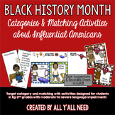 Black History Month for Speech/Language Therapy-Younger Elementary