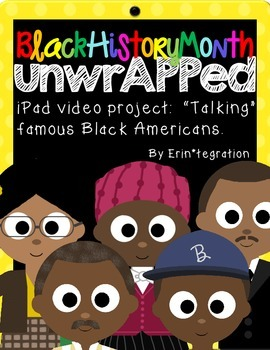 Black History Month iPad App Video Activity for Reading & Writing