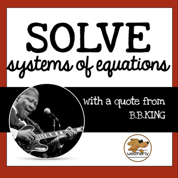 Black History Month Activity - Systems of Equations