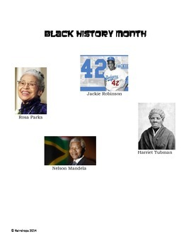 Black History Month math word problems