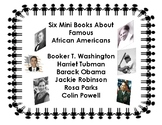 Black History Month mini books - Only $3.00 for 6 books