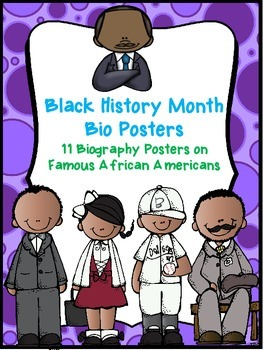 Black History Month posters *MLK, Jr. included*