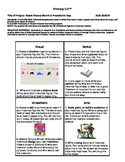 Black History Month/President's Day Individualized Lesson Plan