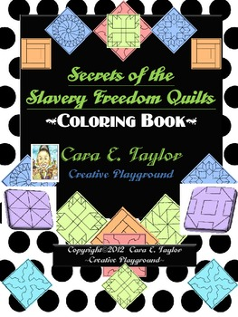 Black History Month Slavery Quilt Codes Activity Book Tpt