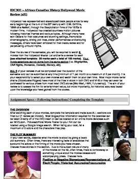 Black History Movie Review Assignment