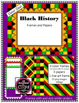 Black History Paper & Frame Collection - Dollar Deal!