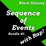 Black History Passages: Sequence of Events Reading Passages with Songs