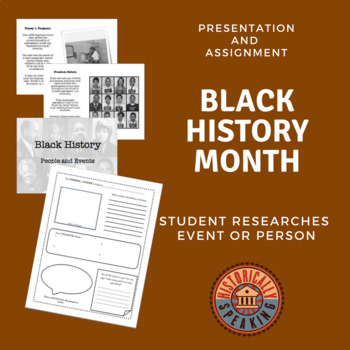 Black History: People and Event Research Assignment